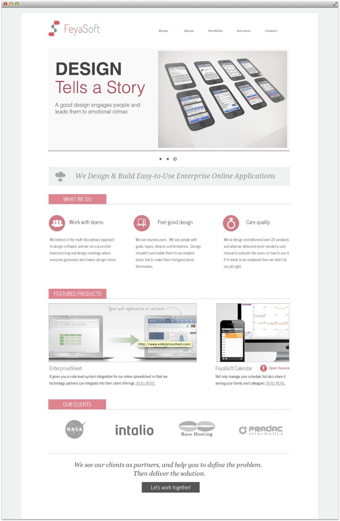 feyasoft-home-page