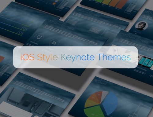 iOS Style Keynote Theme Development