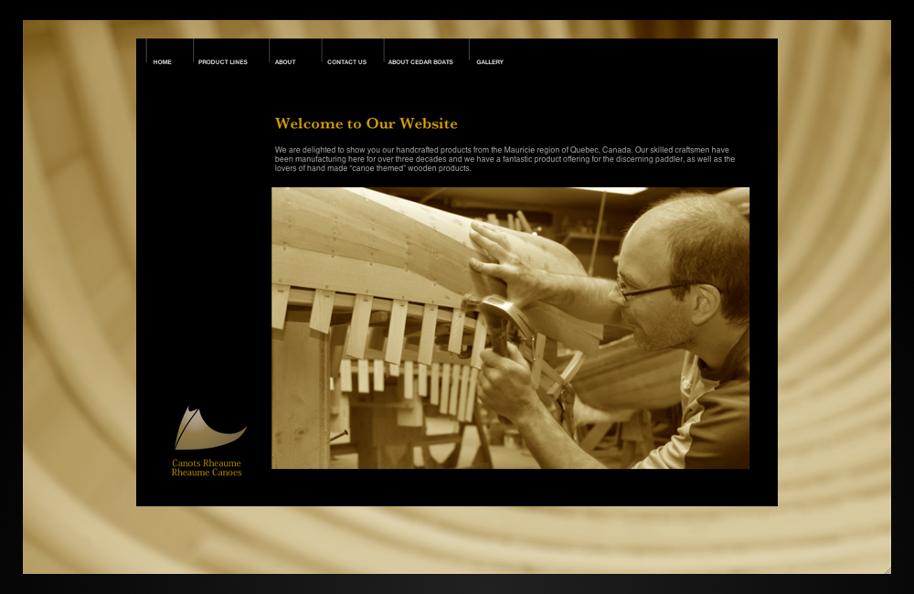 rheaume canoes_home_page
