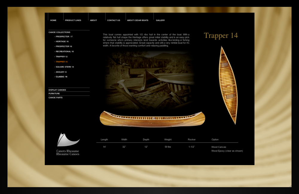 rheaume canoes_trapper14