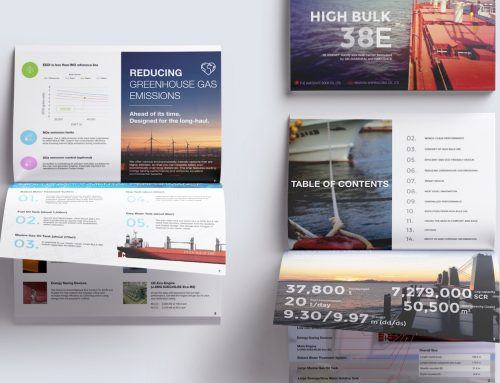 Bulk Carrier Pamphlet Design